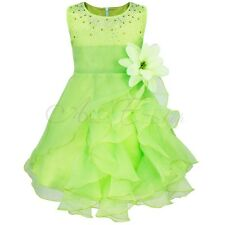 Baby Flower Girl Birthday Wedding Bridesmaid Pageant Graduation Formal Dresses