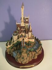 Disney WDCC BEAUTY and The BEAST CASTLE - Enchanted Places in box w/COA