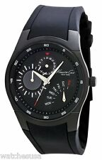 Kenneth Cole New York Men's Silicone Slim Round Multi-Function Watch KC1908