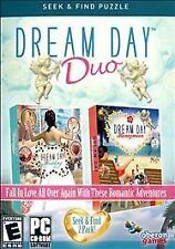 NEW Dream Day Wedding Honeymoon Duo Girls Hidden Object Windows PC Video Game