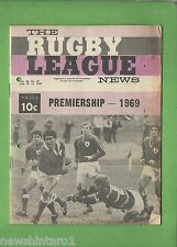 #QQ. THE RUGBY LEAGUE NEWS, 12-13th June 1969, Newtown Jets Cover