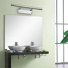 Modern 5W LED 5050 SMD Mirror Wall Light Lamp Bathroom Stainless Steel Fixture