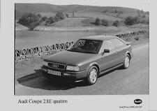 "AUDI COUPE2.8E  QUATTRO   PRESS PHOTO ""BROCHURE RELATED"""