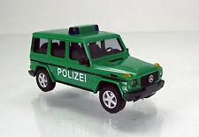 Busch 51410 Mercedes Benz G-Klasse - lang ( W463) Baujahr 1990 - Polizei - grün