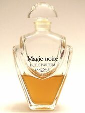 Lancome Magie Noir Perfume Oil 1 oz bottle (About Half Full) Very Rare - Vintage