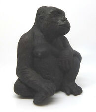 087) Schleich 14197 Gorilla sitzend Affe Affen Schleichtiere RAR Schleichtier