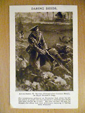 Vintage Postcard ''Daring Deeds'' - 1st Royal Berkshire Regt. WW1 Period