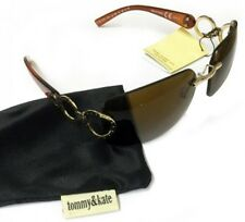 Tommy and Kate Woman's Brown Fashion Sunglasses & Soft Protective Sleeve New