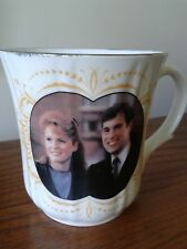 Bridgedale Prince Andrew Sarah Ferguson Wedding MUG Fine bone China 23 July 1986