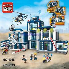 Enlighten Police Headquarters Truck 2-in-1 Building Block Toy lego Compatible