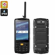Rugged Android 6.0 Smartphone / 5MP Cam / IP68 / Quad-Core CPU / Walkie Talkie..