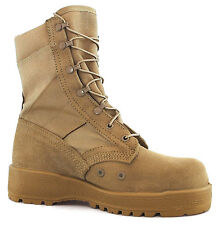 Altama 285 102 Hot Weather Tan 10 1/2R 10.5 R Vibram Soled Boots SPEED LACES