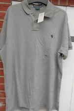 Polohemd  T-Shirt - Polo by Ralph Lauren Gr. L - Gr. 52 grau - Neuware