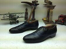 BILL BLASS CLASSICS BLACK LEATHER LACE UP OXFORD BUSINESS POWER SHOES SIZE 11 M