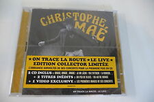 ON TRACE LA ROUTE-LE LIVE CHRISTOPHE MAE CD NEUF EDITION COLLECTOR BOITIER FELE