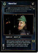 STAR WARS CCG REFLECTIONS VRF CARD ADMIRAL OZZEL