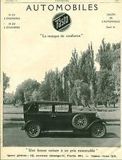 """Publicité Ancienne """" Voiture Automobile FASTO 1926 ( P 34 )"""