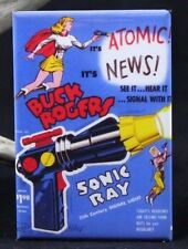 "Buck Rogers Sonic Ray Gun 2"" X 3"" Fridge Magnet. Vintage Toy Advertising"