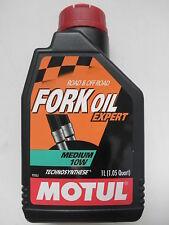 MOTUL FORK OIL OLIO IDRAULICO FORCELLE EXPERT MEDIUM 10W CONF. 1 LITR