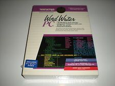 Timeworks WordWriter PC new in box Dos Word Processing Word Writer PC