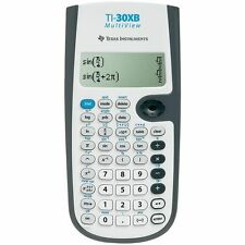 Texas Instruments Scientific School Calculator with Multi-line Display TI30XB