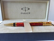 PARKER DUOFOLD JASPER  RED MARBLE   0.7mm PENCIL  IN BOX  MADE IN UK  *
