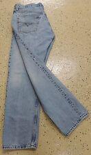 Men's Levis Jeans Silver Colored Metal Buttons Up Crotch  36x30 100% Cotton