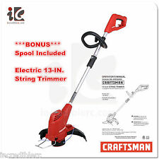 Craftsman Electric 13 Inch 4.2 AMP String Trimmer Model 138.98981 Spool Included
