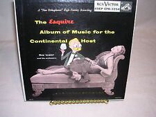 The Esquire Album Of Music for the Continental Host Guy Lupar and His Orchestra