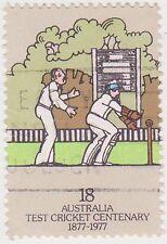 (DA1558) 1977 AU 18c wicket keeper (B)