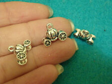 10 pumpkin carriage Tibetan tibet silver charms pendants antique wholesale UK