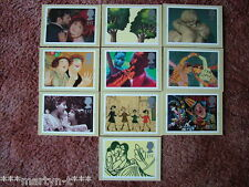 PHQ Stamp card set GS 3, Greetings, 1995. 10 card set.  Mint Condition.