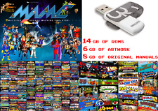 7400+ MAME games, 21GB Roms Classic collection, Arcade Coin-op Retro, 32GB drive