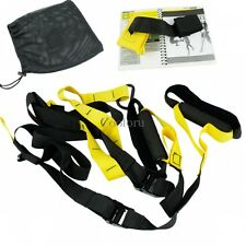 Power Fitness Resistance Hanging BELT Speed Training Sport Cords Tool Set CO99