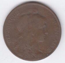 France 1906 10 Centimes, Marianne, Bronze, Liberte Egalite Fraternite