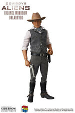 "COLONEL WOODROW DOLARHYDE HARRISON FORD COWBOYS ALIENS 12"" FIGUR RAH MEDICOM TOY"