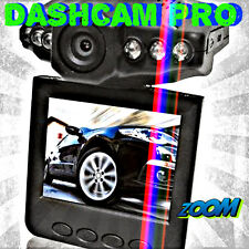 "2.5"" Dashcam HD Car Camera Go Cam DVR Audio Video Pro Recorder Traffic Dashboard"