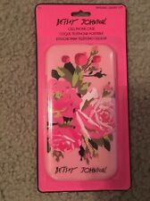 NIP Betsey Johnson Pink Roses Cover Case ~  Samsung Galaxy S3