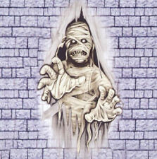 CRASHING MUMMY through wall Scene Setter Halloween Party wall decoration