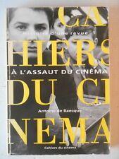 De Baecque- Les Cahiers du Cinéma - A l' assaut du cinéma , 1951 - 1959 .