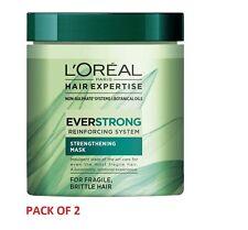 2 X L'Oreal Paris Hair Expertise EverStrong Nourishing Intense Mask 200ml