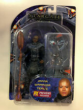 DIAMOND SELECT STARGATE SG-1 SERIES 2 PX EXCLUSIVE JAFFA WARRIOR TEAL'C FIGURE