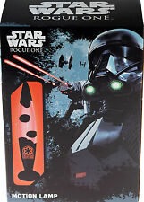 Star Wars Red And Black Lava Motion Lamp - Boys Bedroom Night Light