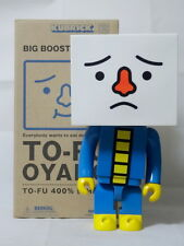 To-Fu Oyako Child 400% blue Figure Kubrick Medicom Original Design Doll Tofu