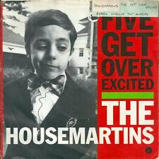 "THE HOUSEMARTINS - FIVE GET OVER EXCITED - 7"" VINYL PICTURE SLEEVE 1987 GO DISCS"