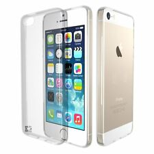 New Crystal Clear Transparent Soft TPU Silicone Gel Cover Case For iPhone 5SE 4""
