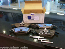 OEM GENUINE MERCEDES BENZ NEW FRONT BRAKE PADS W/ SENSOR W212 E350 4MATIC