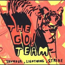1 CENT CD Thunder, Lightning, Strike - The Go! Team