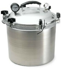 All-American 921 21-1/2-Quart Pressure Cooker/Canner Aluminum NEW! Steam Gauge