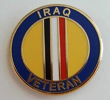 Enamel Lapel Badge - Iraq Veteran